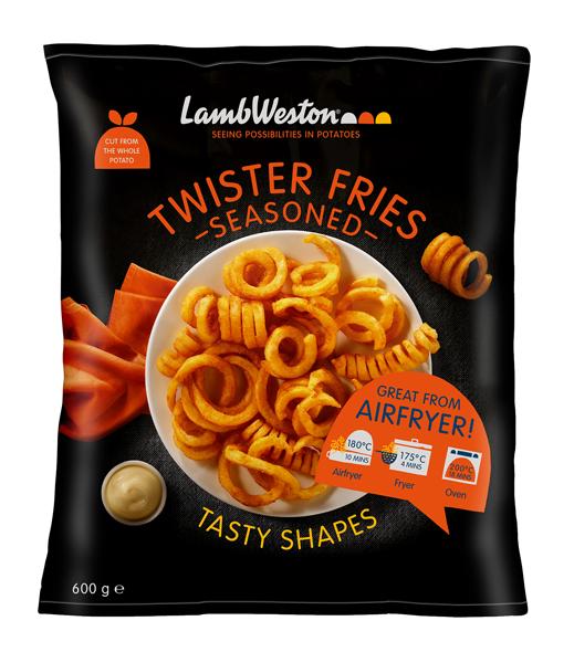 Twister Fries Seasoned