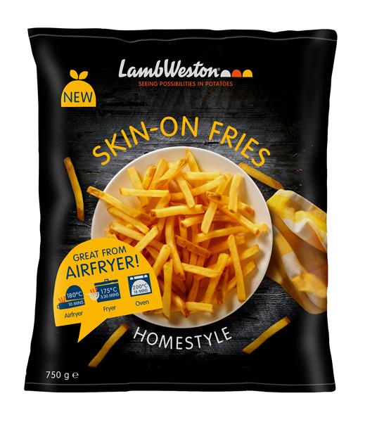 Skin-on Fries